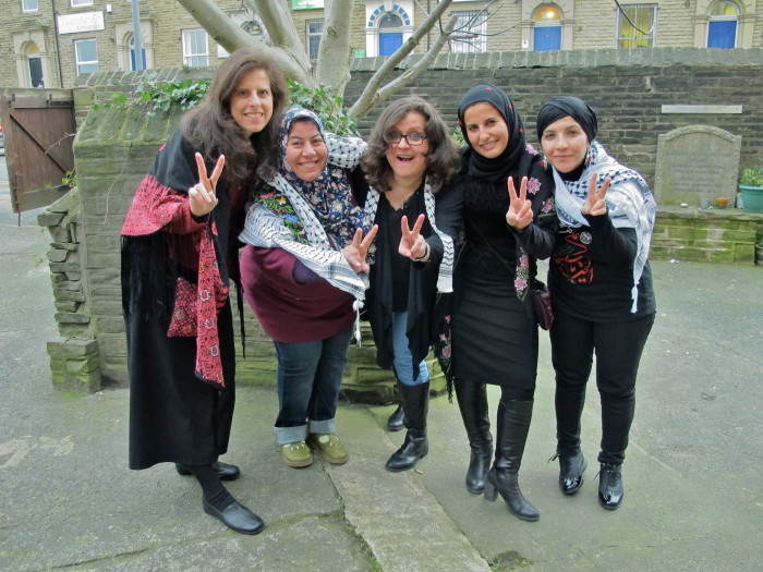 Mahasin Arwa Reem Zayneb and Kholoud in Bradford