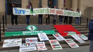 Support and solidarity for Palestine from all sections of Sheffield communtities